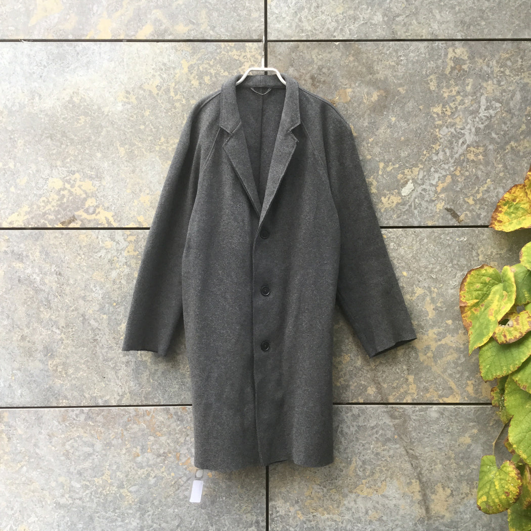 Grey Taupe Wool Mix COS Coat  Size L/XL