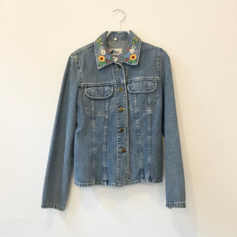Cloudy Sea Denim Kenzo Jeans Jacket