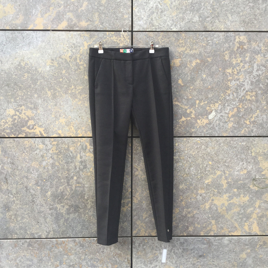 Black Polyester Mix MSGM Trousers  Size 26/27