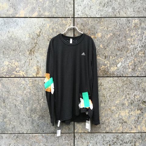 Colorful Polyester Mix Adidas x Kolor Top LS Attachment Size M/L