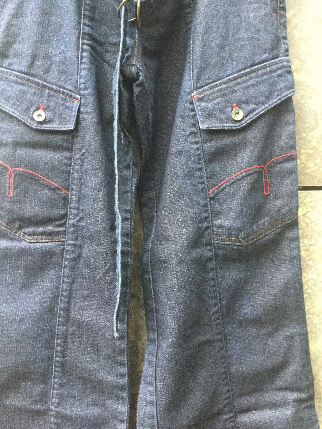 Navy Denim Contemporary Main Jeans Multi Pocket Size 29/30