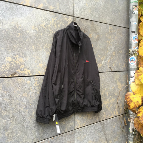 Black Nylon 032c Zip Jacket  Size L/XL