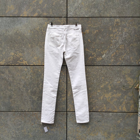 White Denim Jil Sander High Waist Jeans  Size 26/27