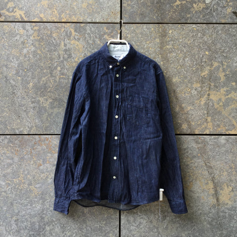 Navy Cotton Acne Studios ( Mens ) Shirt  Size XS/S
