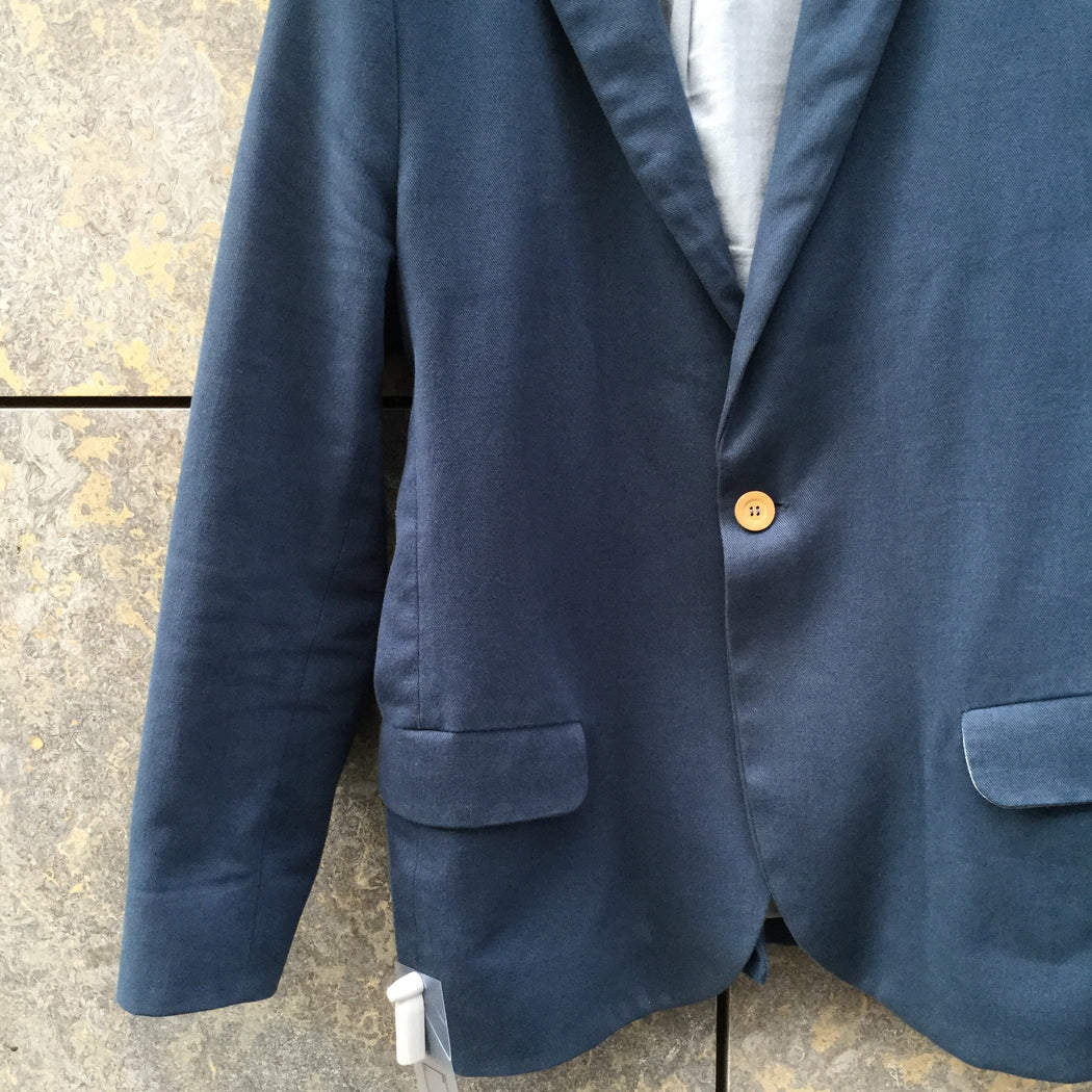 Blue Cotton A Kind of Guise Blazer  Size M