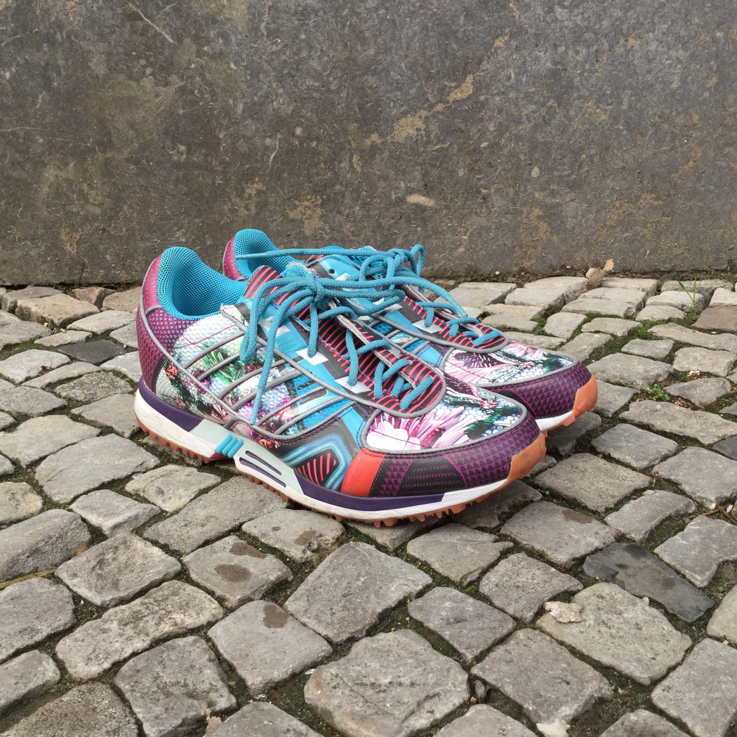 Colorful Synthetic Adidas x Mary Katrantzou Sneakers  Size 9