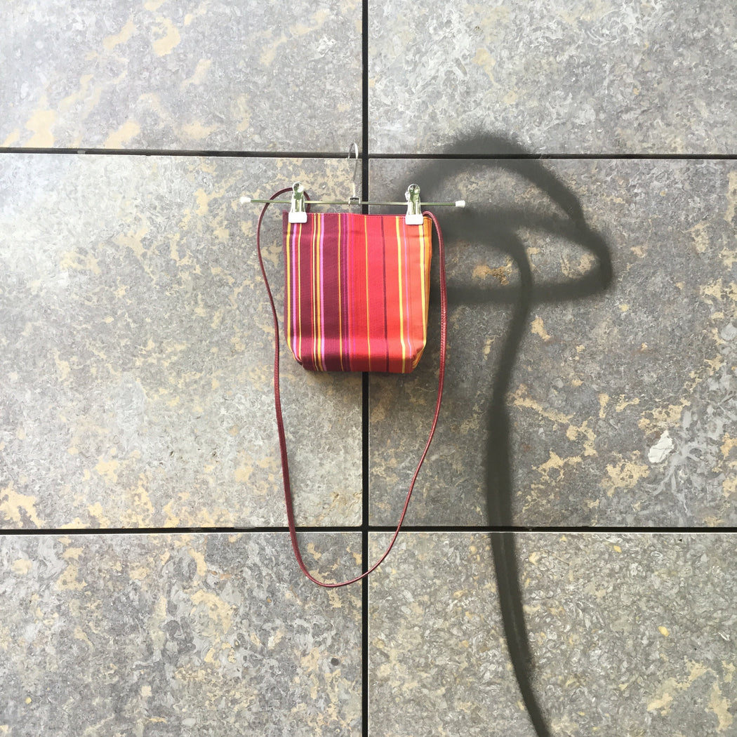 Deep Red-Colorful Synthetic Vintage Mini Purse