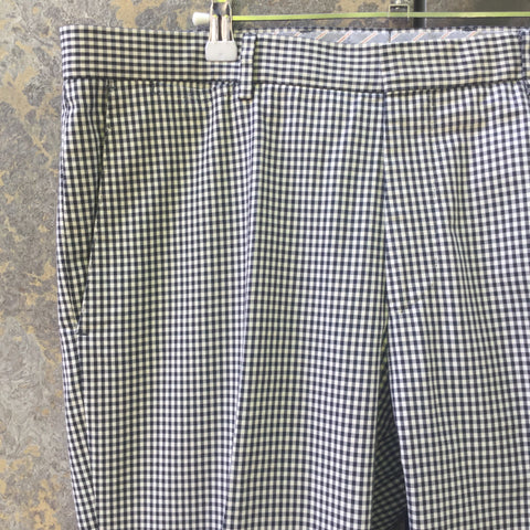 Black-White Cotton Tommy Hilfiger Trousers  Size 36