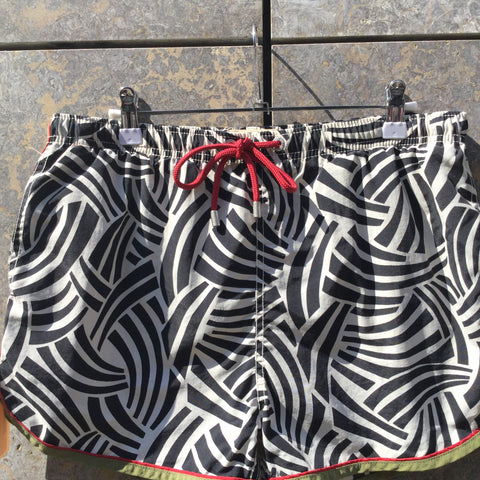 Colorful Polyamide Gant Shorts  Size 32