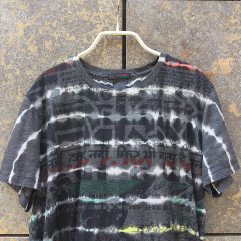 Colorful Cotton / Poly Mix Directional Vintage T-Shirt  Size S