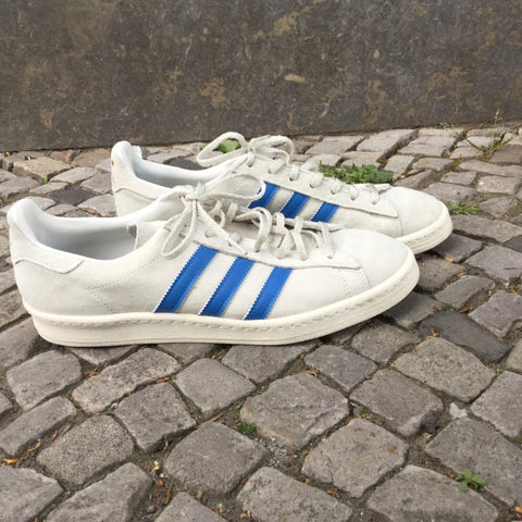 Pearl-Sky Leather/synthetic Mix Adidas Sneakers  Size 43