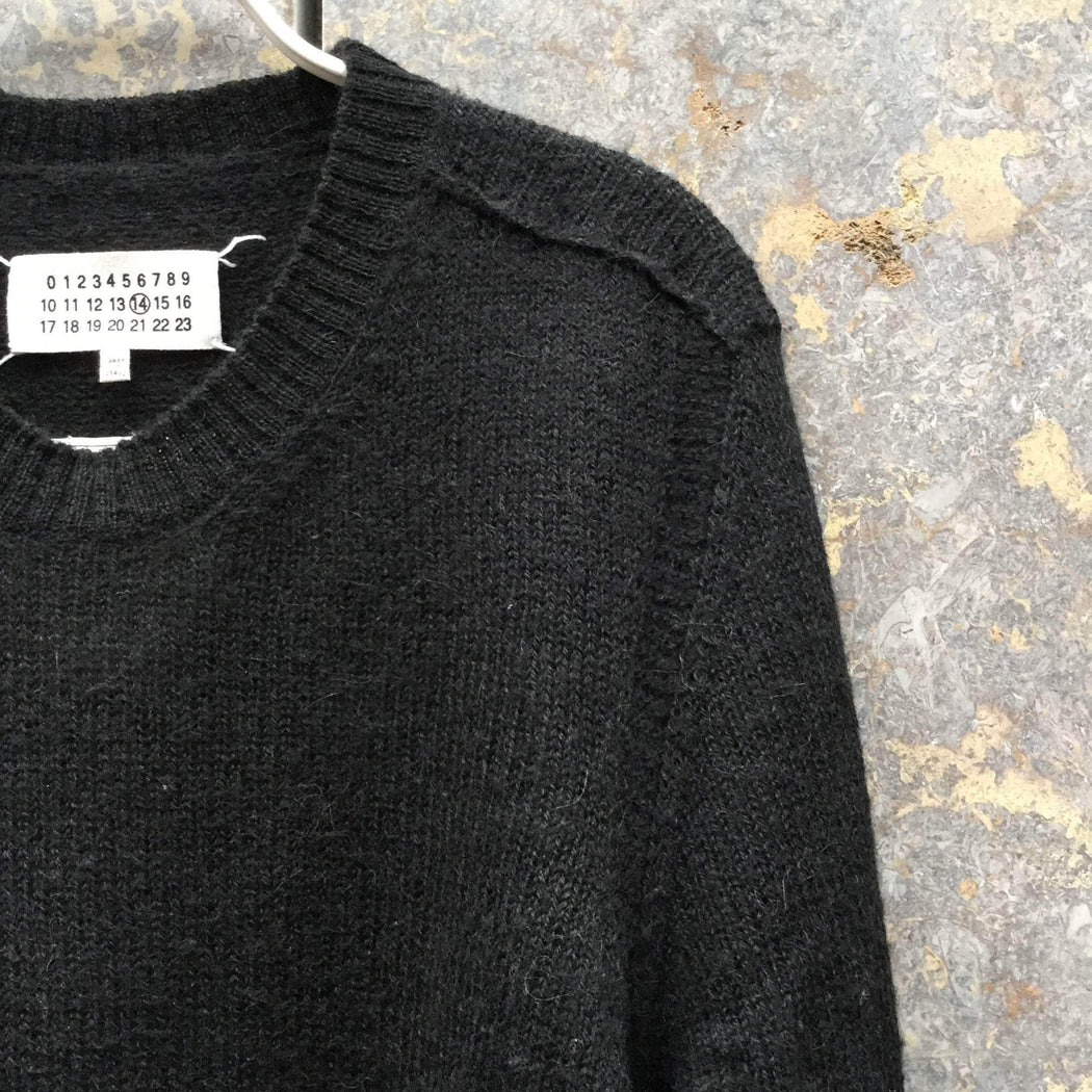 Maison Martin Margiela Sweater Black Alpaca / Wool Mix Maison Martin Margiela Sweater  Size L