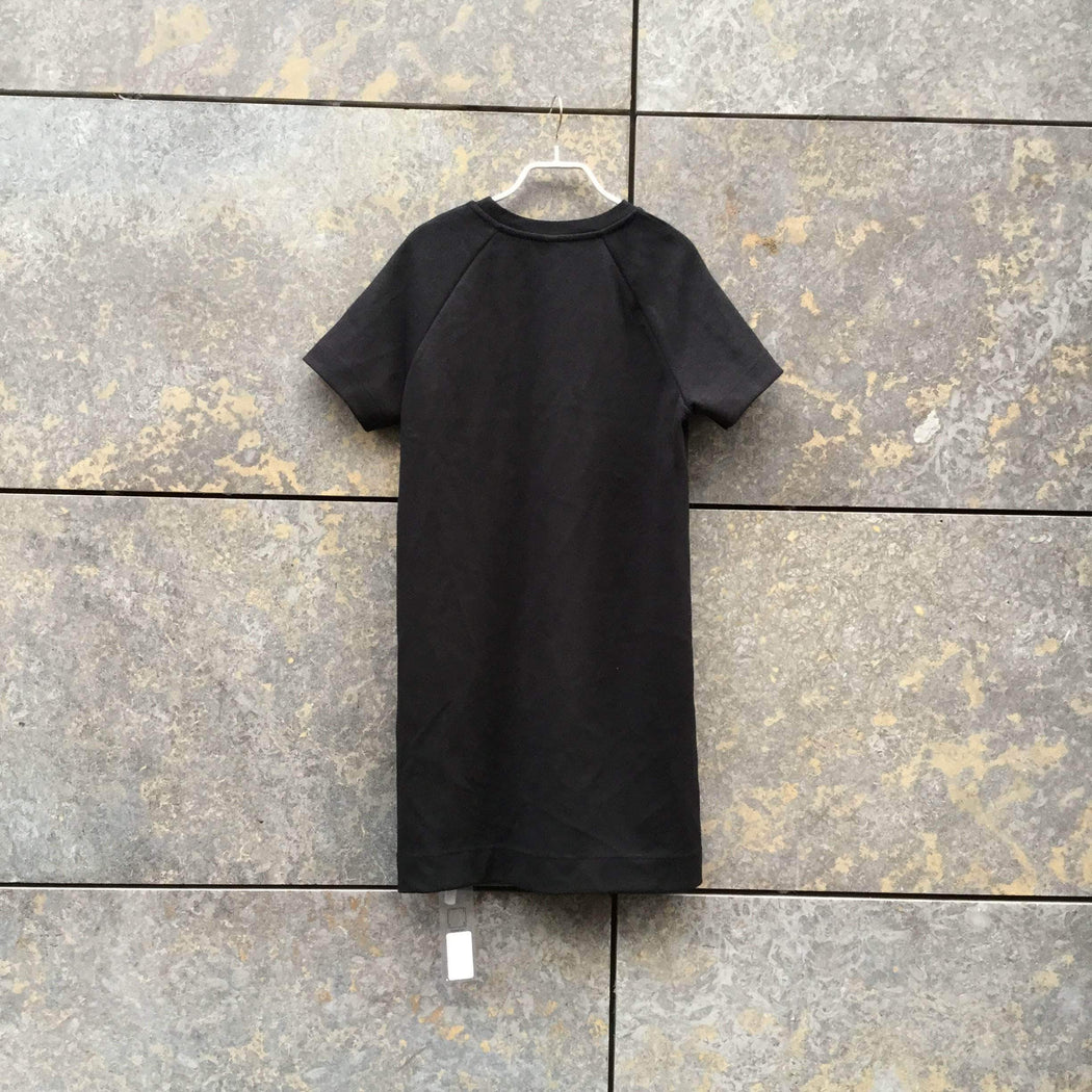 UniQlo Cocoon Dress Black Cotton / Poly Mix UniQlo Cocoon Dress  Size Xs/S