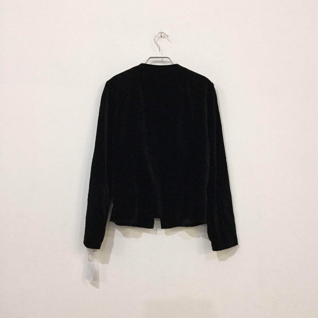 Vintage Blazer Black Cotton Vintage Blazer  Special Button Size L/Xl