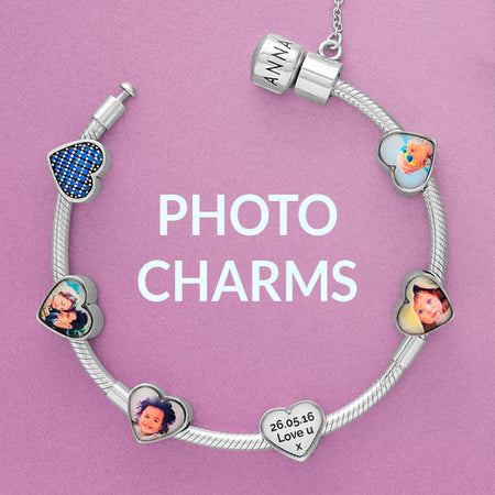 Photo charms by Annalise Jewellery UK