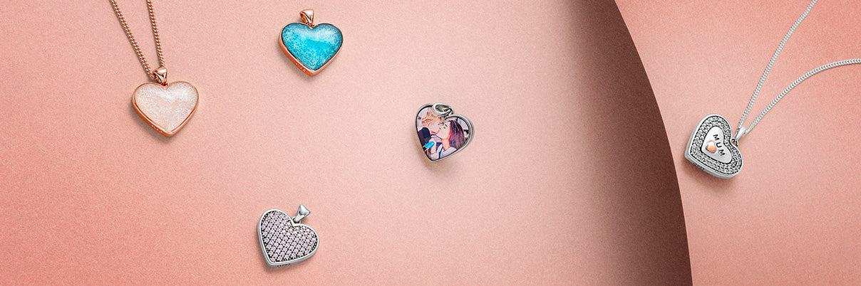 Annalise photo pendant lockets
