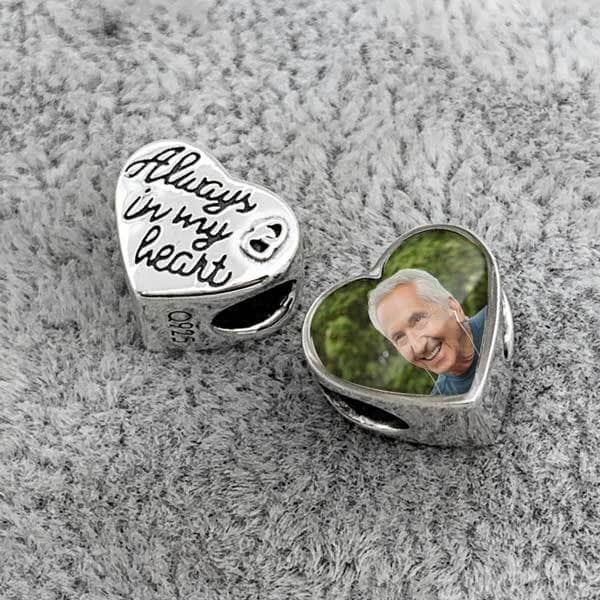 Always In My Heart Photo Charm | Photo Charms - Annalise Jewellery