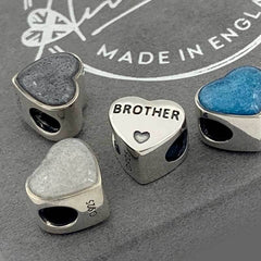 Brother Ashes Charm | Ashes Charms - Annalise Jewellery