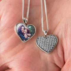 Crystal Clear Photo Pendant | Photo Locket - Annalise Jewellery