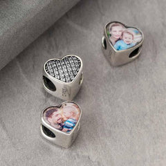 Crystal Photo Charm - Photo Charms By Annalise Jewellery