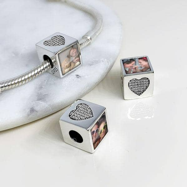 Crystal Personalised Charm | Photo Charms - Annalise Jewellery