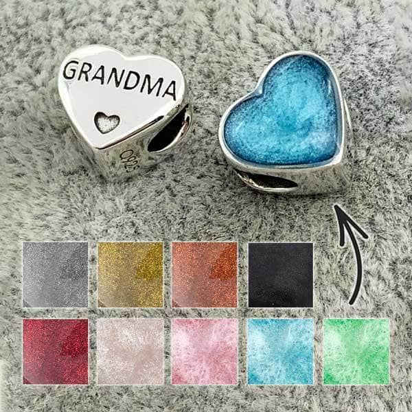 Grandma Ashes Charm | Ashes Charms - Annalise Jewellery