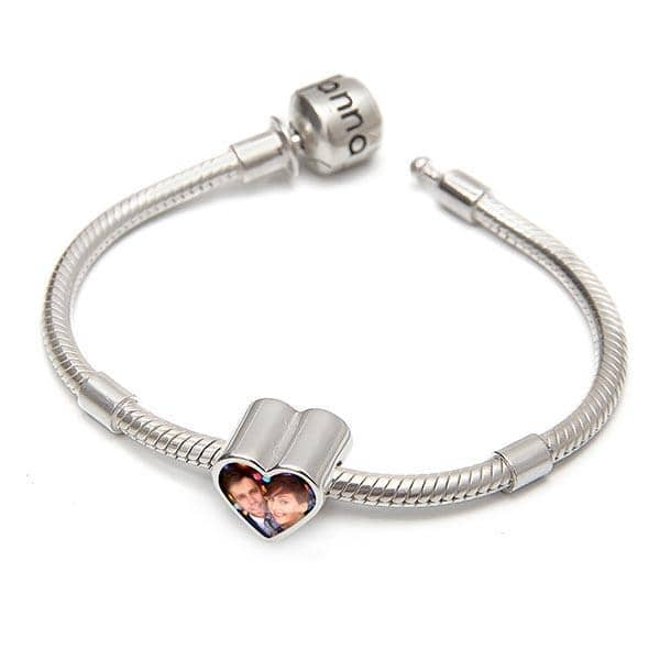 Love Bracelet Set - Photo Charm & Bracelet By Annalise Jewellery