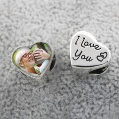I Love You Photo Charm | Photo Charms - Annalise Jewellery