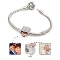 Love Bracelet Set | Photo Charm & Bracelet - Annalise Jewellery