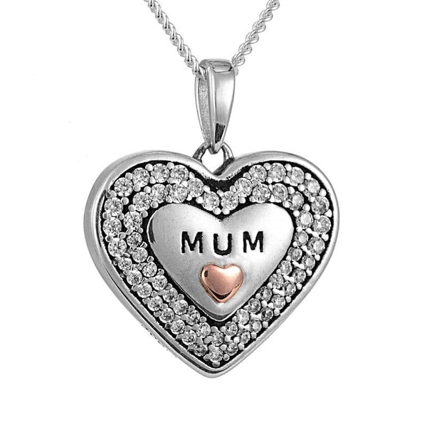 Crystal MUM Photo Pendant - Photo Locket By Annalise Jewellery