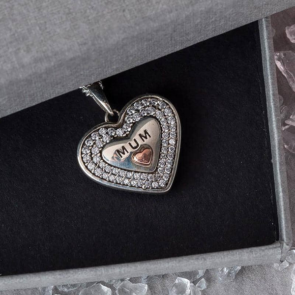 Message to MUM Pendant - Photo Locket - Annalise Jewellery