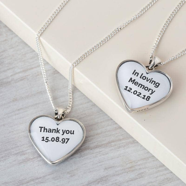 Message to MUM Pendant - Photo Locket By Annalise Jewellery
