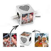 Brother Heart Photo Charm
