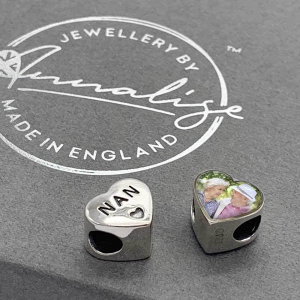 Nan Personalised Charm | Photo Charms - Annalise Jewellery