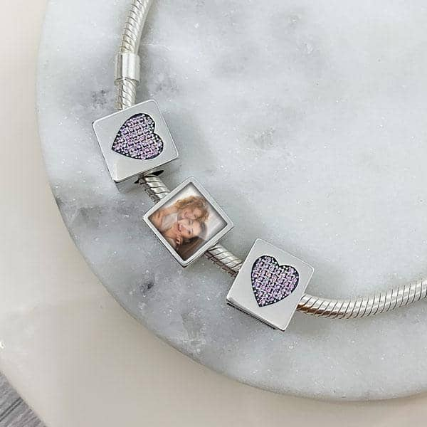 Rose Photo Charm - Photo Charms - Annalise Jewellery