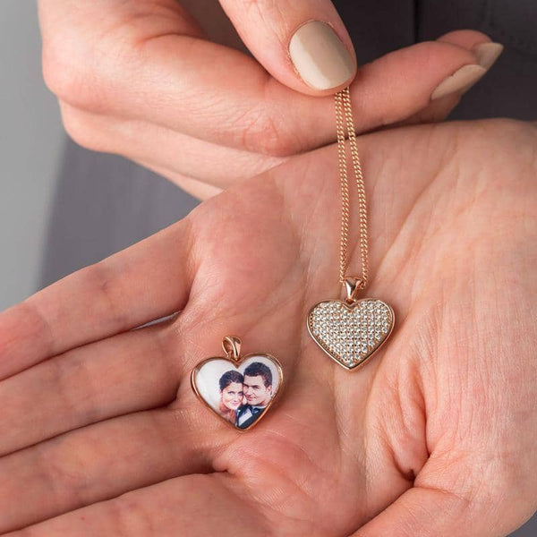 Rose Gold Photo Pendant - Photo Locket By Annalise Jewellery