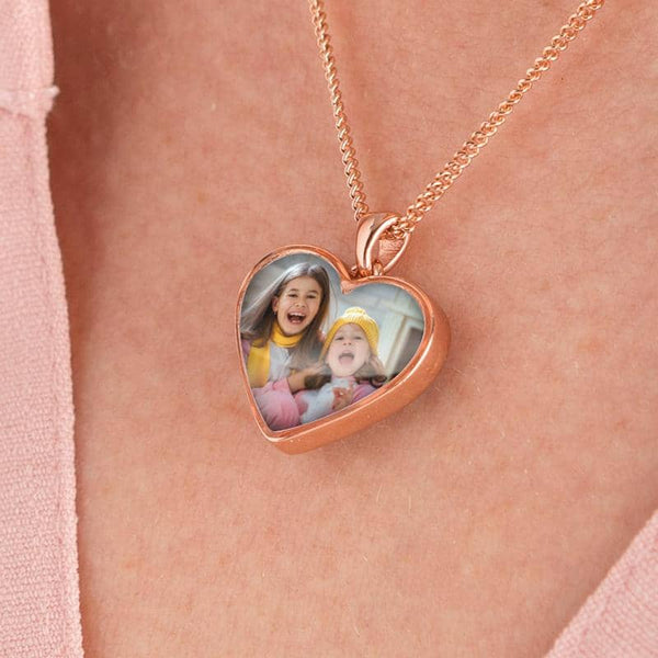 Rose Gold Photo Pendant | Photo Locket - Annalise Jewellery