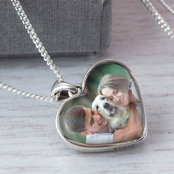 Crystal Pink Photo Pendant | Photo Locket - Annalise Jewellery