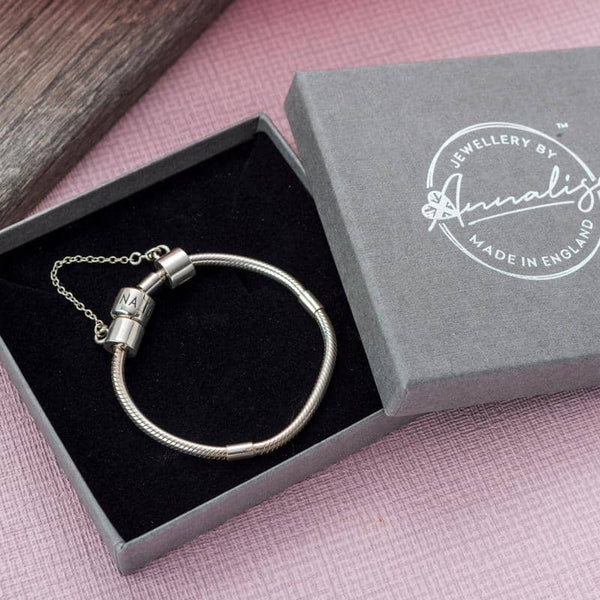 Adult Starter Bracelet | Photo Charm & Bracelet - Annalise Jewellery