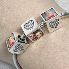 Crystal Personalised Charm - Photo Charms By Annalise Jewellery