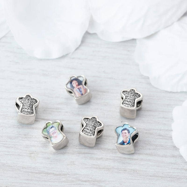 Guardian Angel Photo Charm | Photo Charms - Annalise Jewellery