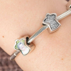 Guardian Angel Charm - Photo Charms By Annalise Jewellery