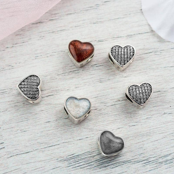 Clear Crystal Ashes Charm | Ashes Charms - Annalise Jewellery