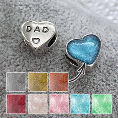 DAD Ashes Charm | Ashes Charms - Annalise Jewellery