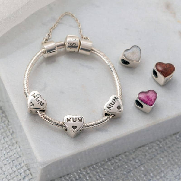 MUM Ashes Charm | Ashes Charms - Annalise Jewellery