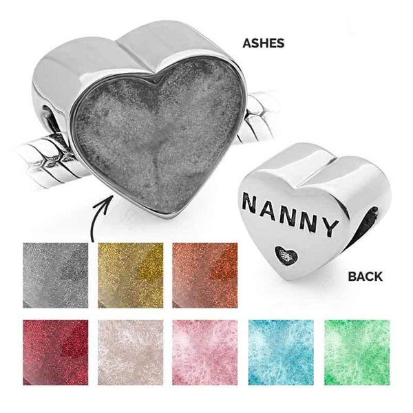 Nanny Ashes Charm | Ashes Charms - Annalise Jewellery