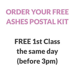 Ashes Postal Kit - Ashes Pendant By Annalise Jewellery