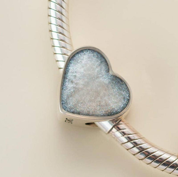Blue Crystal Ashes Charm - Ashes Charms - Annalise Jewellery