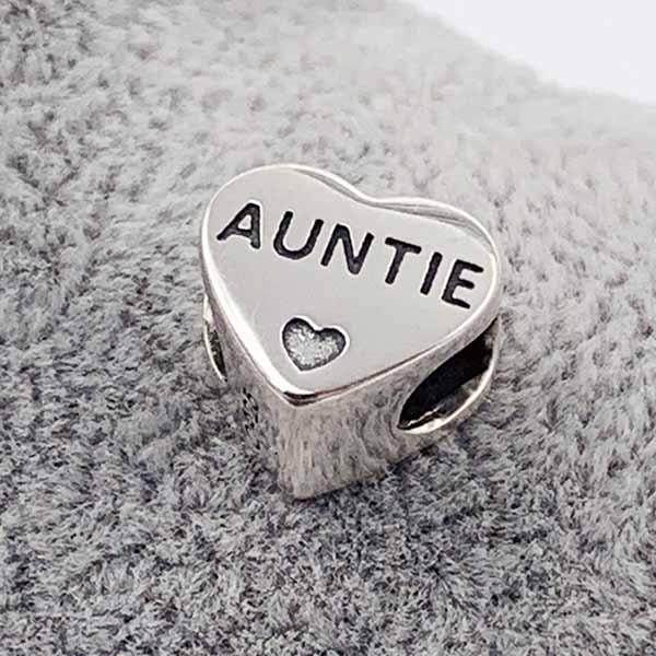 Auntie Photo Charm | Photo Charms - Annalise Jewellery