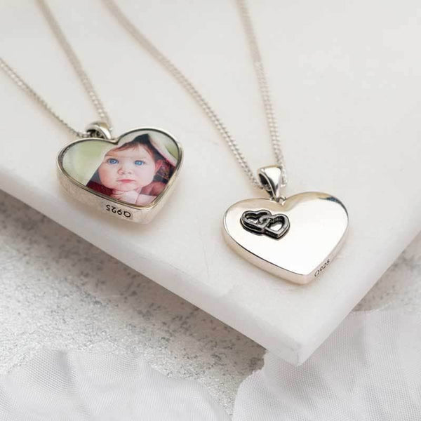 Love Hearts Photo Pendant | Photo Locket - Annalise Jewellery